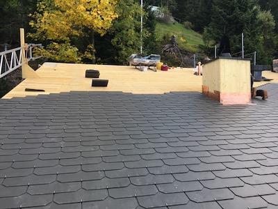 Dachsanierung Rigi Kaltbad